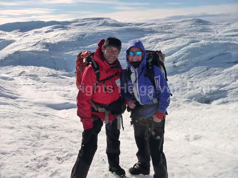 samen met expeditiegenoot Reinier van den Berg