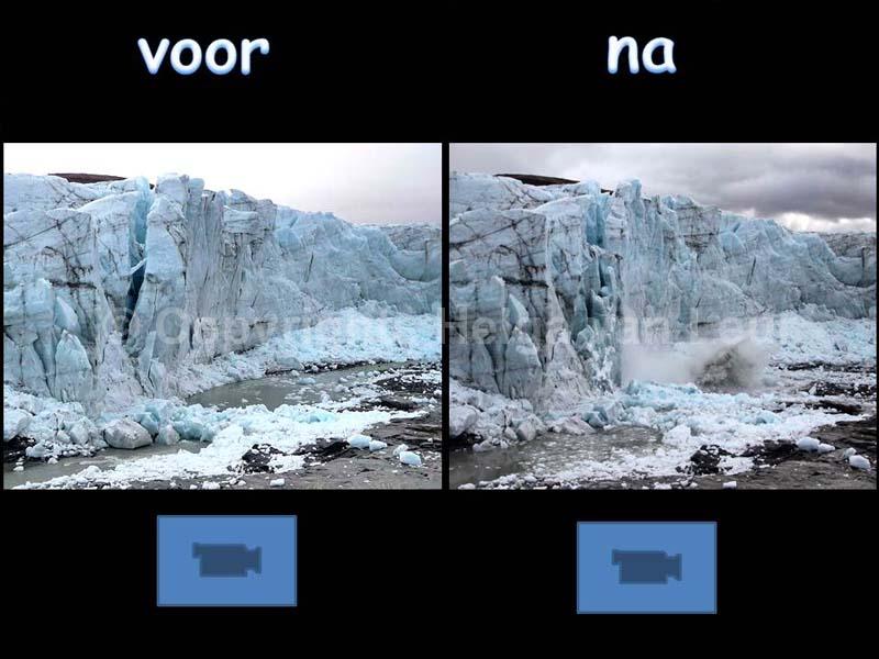 verschil tussen dag 1 en dag 2 - en wat tonnetjes (smelt)ijs