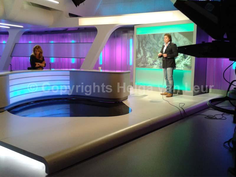 Marco Borsato als RTL-weerman